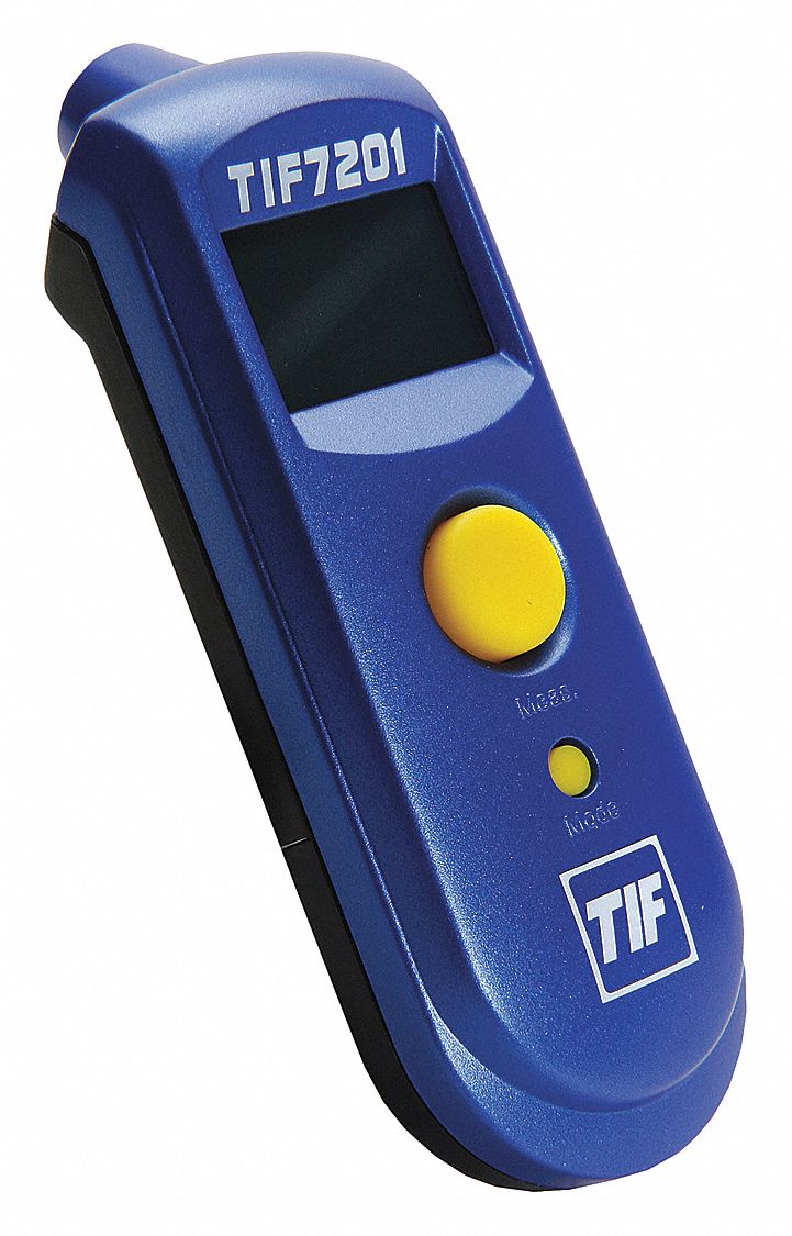 Backlit LCD,  Infrared Thermometer,  No Laser Sighting - Infrared