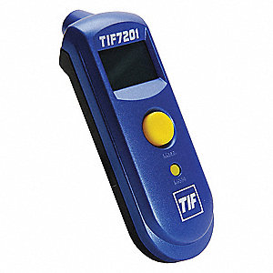 Infrared Thermometer, -27° to 428°F Temp. Range (F)