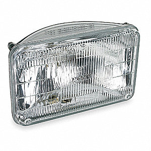 Halogen Sealed Beam Lamp,165mm,55/65W