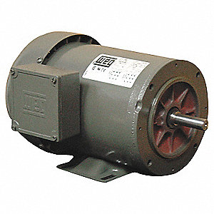 Mtr,3 Ph,3/4hp,1730,208-230/460,Eff 80.0