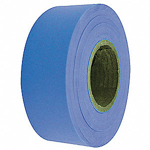 Flagging Tape,Fluorescent Blue,150 ft