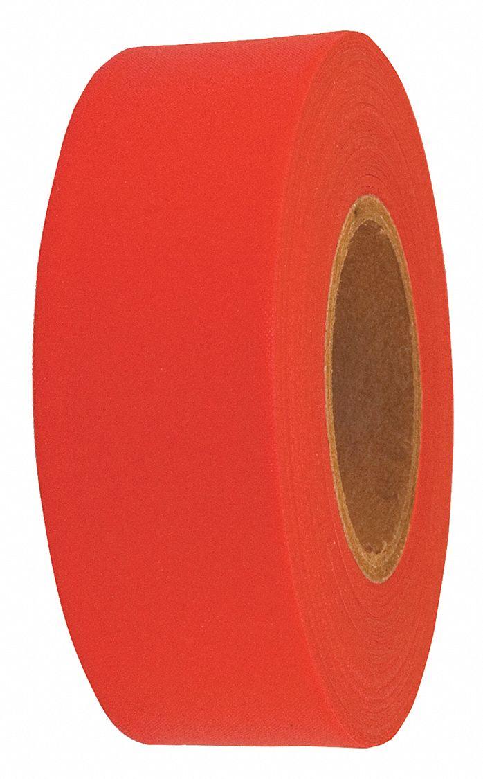 Marking Ribbon 12 Rolls 150 ft Lime Vinyl Flagging Tape