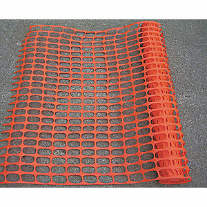 "Barrier Fence, 1-3/4 x 1-3/4"" Mesh Size, 4 ft. Height, 100 ft. Length"