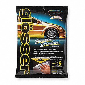 Detailing Wipes,White,PK5