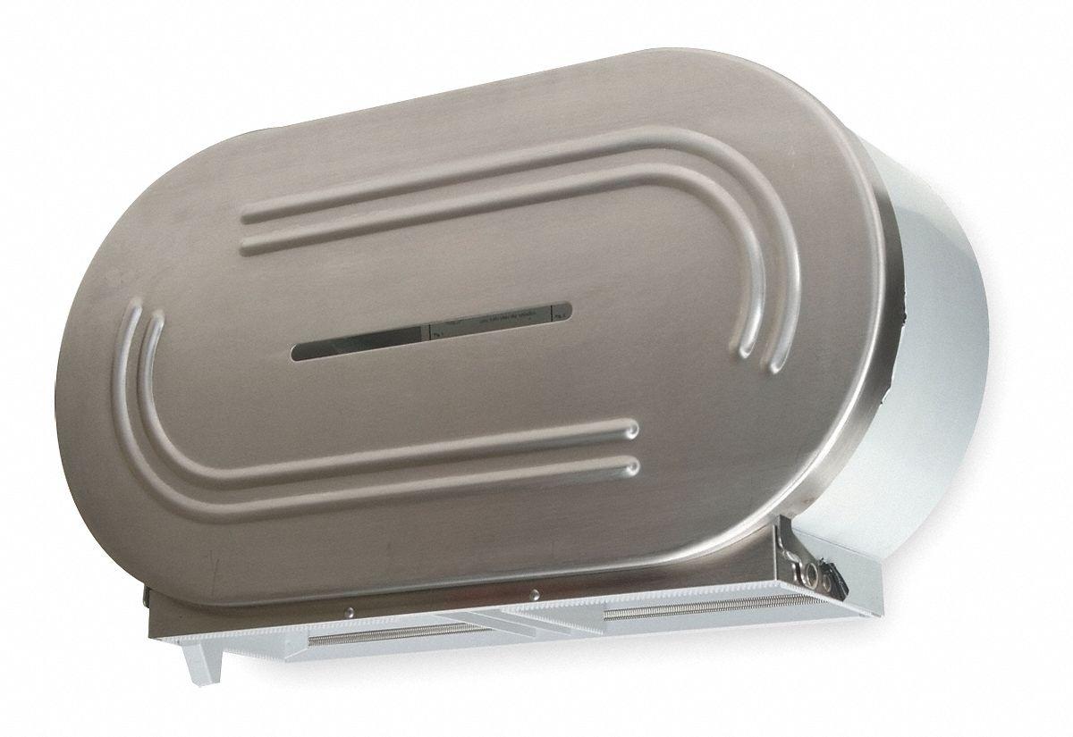 TOUGH GUY Toilet Tissue DispenserSS 1ECK11ECK1 Grainger