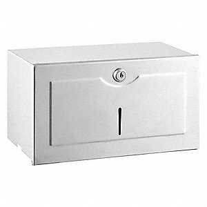 Universal Single Fold Manual Paper Towel Dispenser, Satin
