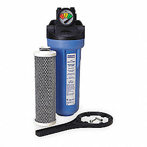 FILTER SYSTEMS,3/4 IN NPT,1 CARTRID