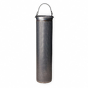 304 Stainless Steel Strainer Basket, Mesh Size 70, For Use With: #4 Bag Housing