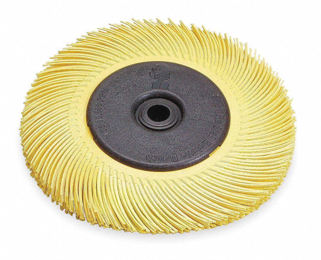 Abrasive Radial Bristle Brushes