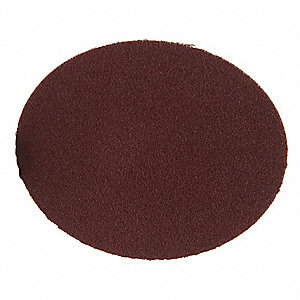 "3"" Coated Quick Change Disc, TR Roll-On/Off Type 3, 100, Medium, Aluminum Oxide, 50 PK"