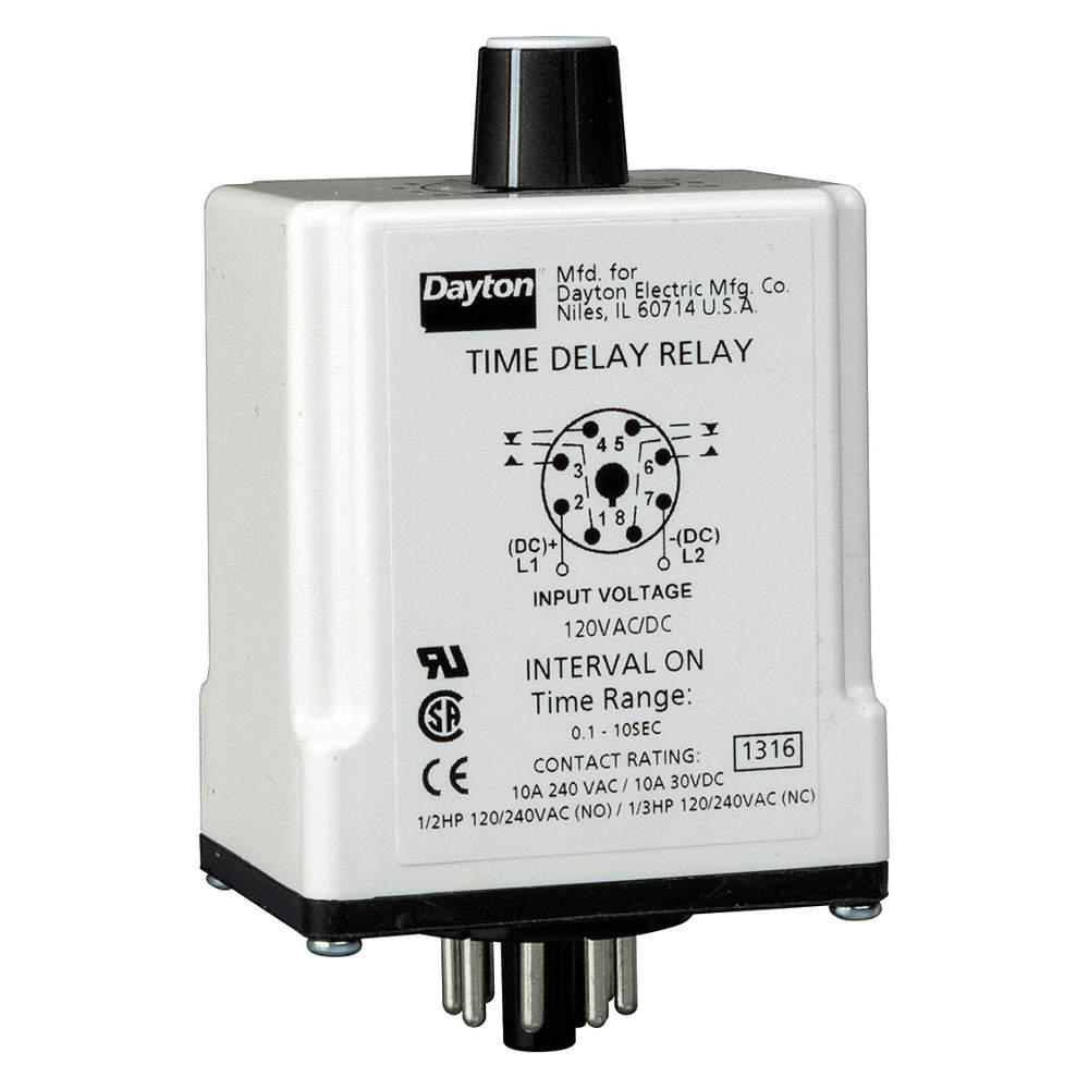 Dayton Single Function Timing Relay 120vac Dc 10a 240v 8 Pins Of Relays Are In Use Today 3 Pin 4 5 And 6 Switch Zoom Out Reset Put Photo At Full Then Double Click