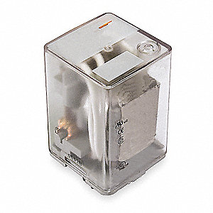 Plug In Relay,8 Pins,Octal,6VAC