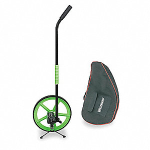 Measuring Wheel W/Stand,3 Ft,Wt 42.3 Oz