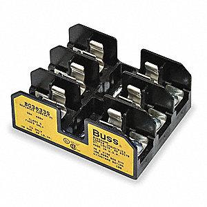 BUSSMANN Fuse Block, Industrial, 25 to 30A, Fuse UL Class G, 480V AC/300V  DC - 1EK98|BG3033S - GraingerGrainger