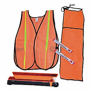 Motorist Safety Kit/Triangle,5 Piece