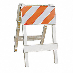"Leg Frame, Type 2, 45"" x 45"" x 24"", Orange/White"
