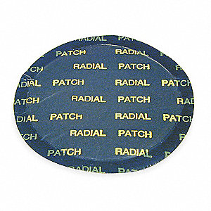 Lg Rnd Radial Tire Patch,4-1/8 In L,PK10
