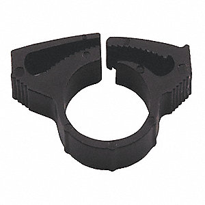 Hose Clamp,Nylon,Max 0.511 In,PK10