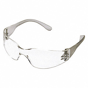 Condor  Mini V Anti-Fog Safety Glasses, Clear Lens Color
