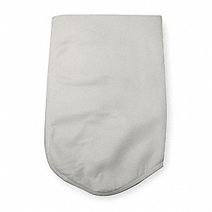 Felt Filter Bag, Polyester Material, 20 gpm Max. Flow, 5 Microns
