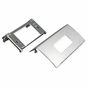 Steel Decorator Device For Use With DS4000 Raceway, Gray