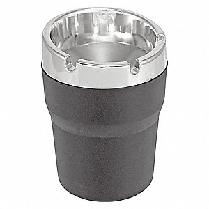 Ash Can,Black/Chrome