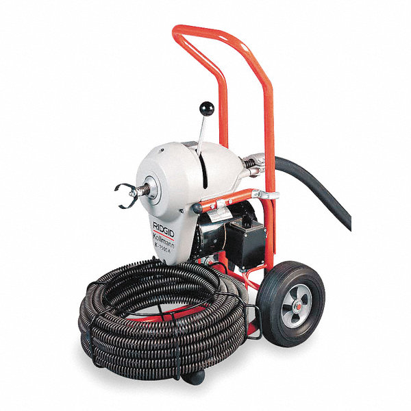 Ridgid Sectional Drain Cleaning Machine 3 4 Hp 1ez18