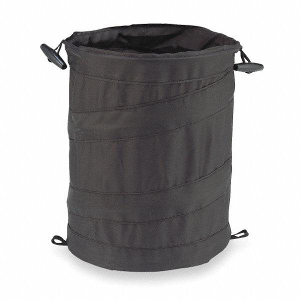 Bell Collapsible Trash Can Black 1ezc5 22 1 38996 1 Grainger