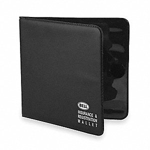 Insurance/Registration Wallet,Black