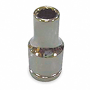 "10mm Chrome Vanadium Socket with 1/4"" Drive Size and Chrome Finish"
