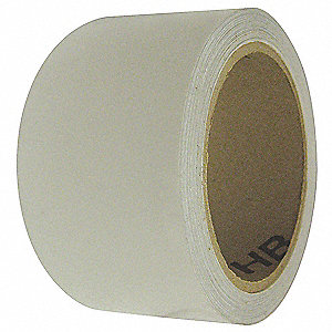 "Marking Tape, Solid, Continuous Roll, 2"" Width, 1 EA"