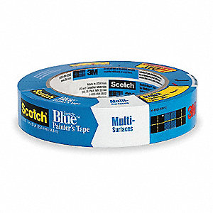 "Painters Masking Tape, 60 yd. x 3/4"", Blue, 5.4 mil"