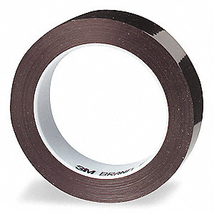 "Masking Tape, 72 yd. x 3/8"", Ruby Red, 2.4 mil"