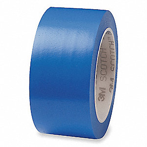 "Floor Marking Tape, Solid, Roll, 1"" x 108 ft., 1 EA"