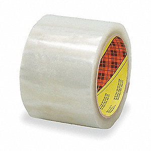 50m x 72mm Polypropylene Carton Sealing Tape, Clear