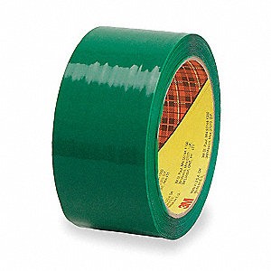 50m x 48mm Polypropylene Carton Sealing Tape, Green