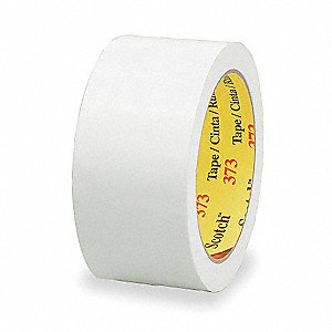 50m x 48mm Polypropylene Carton Sealing Tape, White