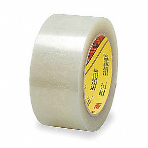 50m x 48mm Polyester Carton Sealing Tape, Clear