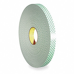 "3/4"" x 216 ft. Urethane Foam Double Sided Tape, 31 mil, 1EA"