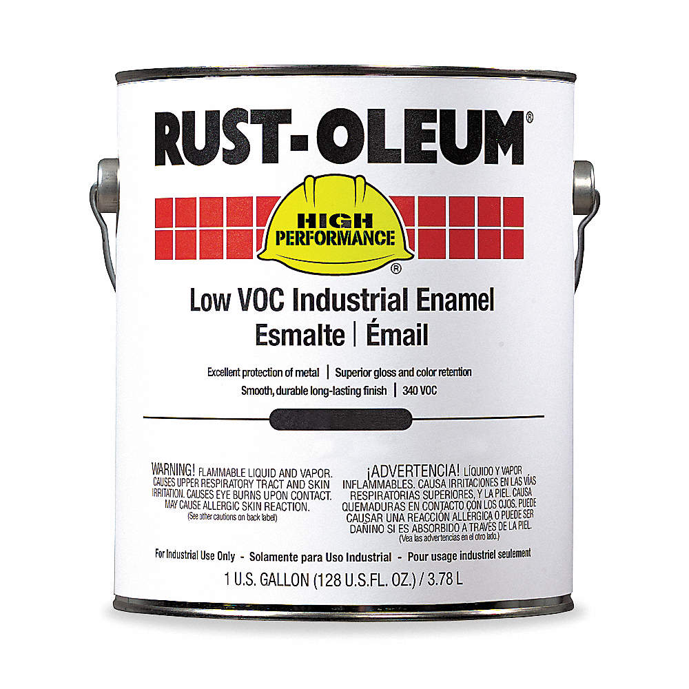 Rust Oleum Gloss Interior Exterior Paint Base Safety Red 1