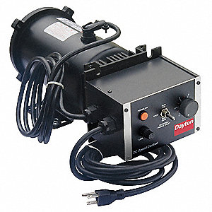 3/4 HP Adjustable Speed Motor,1750 Nameplate RPM,90 Voltage,Frame 56C