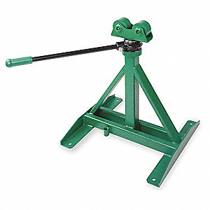 "Ratcheting Reel Stand,28"" to 46-5/8"" H"