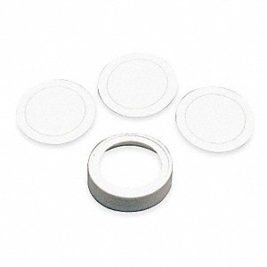 Cap Kit,Includes 3 Liners,Use With 4YF98