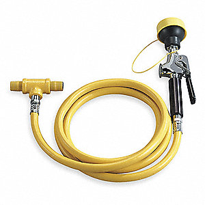 Single Head Drench Hose,Wall Mount,8 ft.