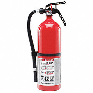 Extinguisher,Dry Chemical,ABC,3-A:40-B:C