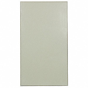 PARTITION PANEL,58 IN W,STEEL,ALMON