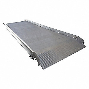 "Walk Ramp, 2200 lb. Load Capacity, 39-1/2"" Overall Width, 10 ft. Overall Length"