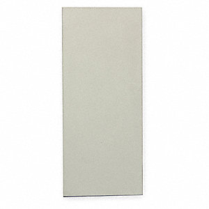 PARTITION SCREEN,18 IN W,POLYMER,CR