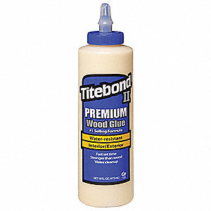 16 oz. Exterior Wood Glue, Premium, Honey Cream