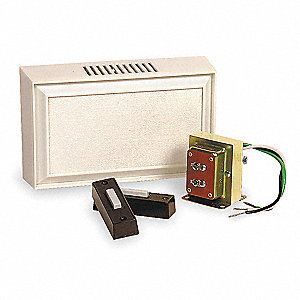 16VAC Indoor Door Chime Kit, 85db, White